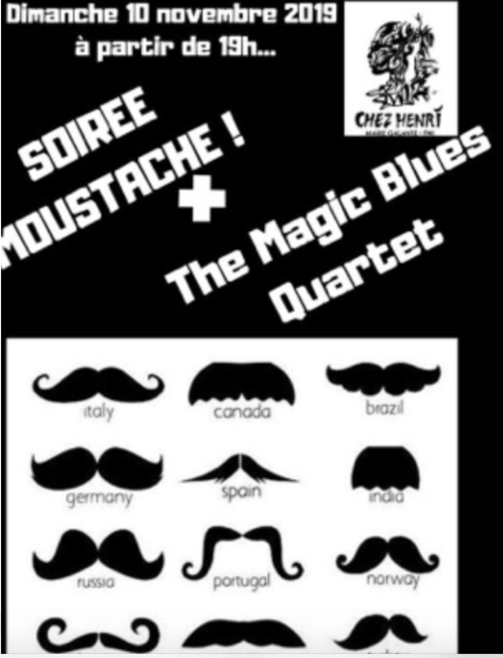 Retour sur la soirée moustache Chez Henri