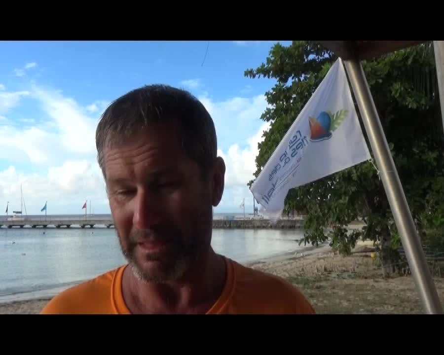 Rallye des iles du soleil à l'arrivée à Marie Galante
