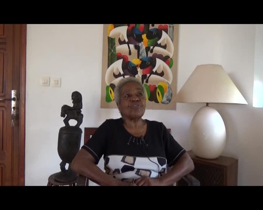 Interview de Mme Tirolien retour sur quelques images d'une vie passionnante