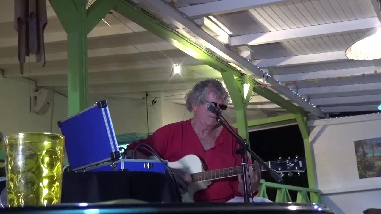 Alain Moisan en concert à La Rose du Brésil