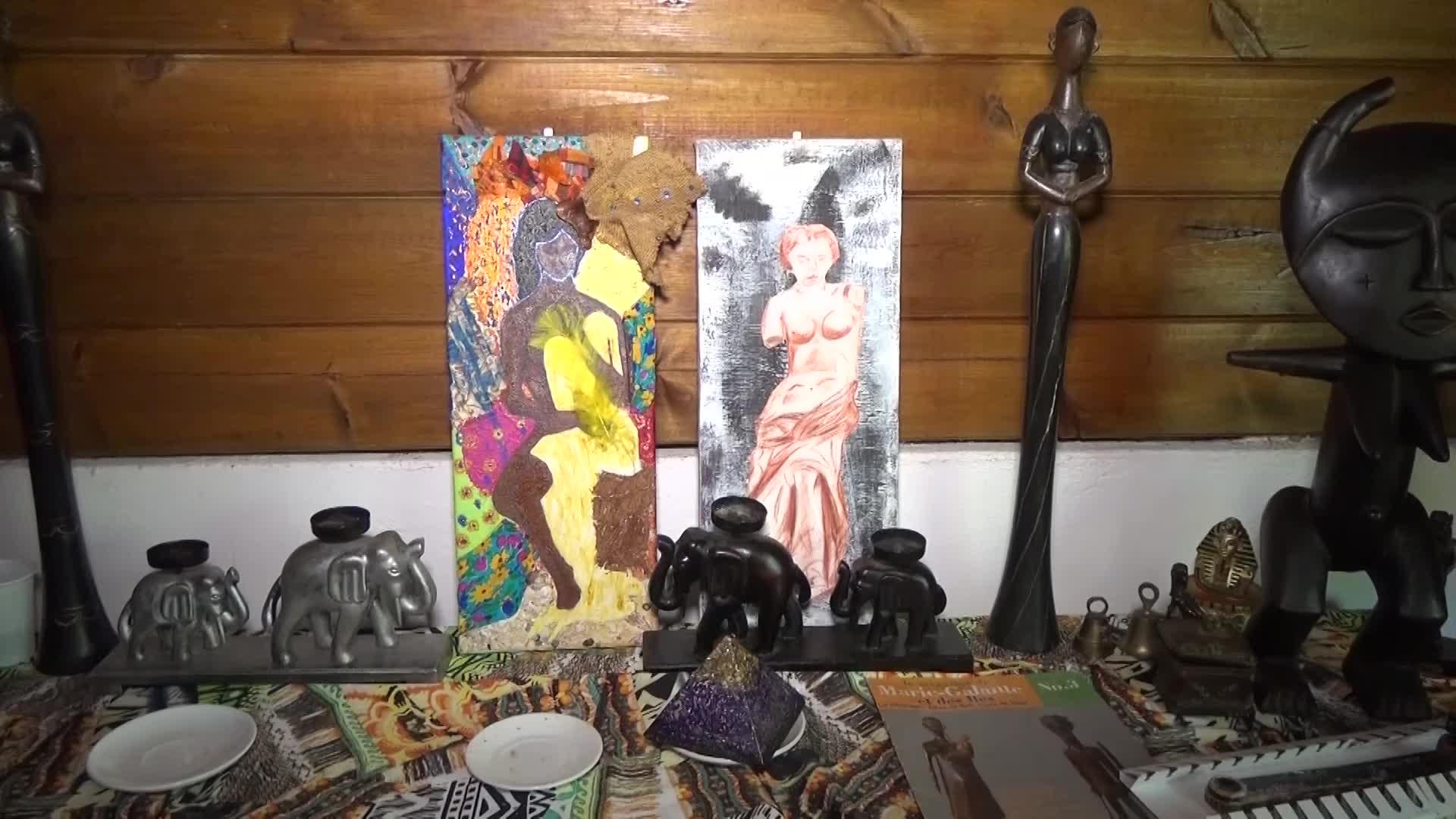 Portrait de femmes : Christine ELISABETH une artiste aux multiples talents