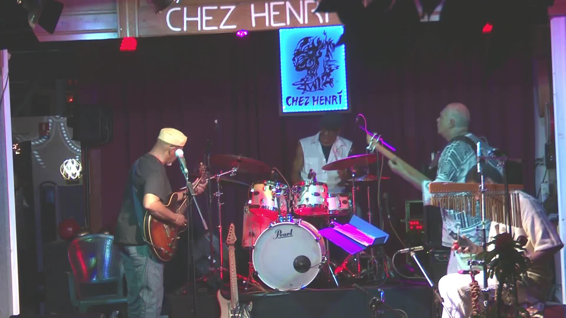 Le Groupe Ka Fuzion de retour sur la scène de CHEZ HENRI